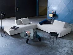 Viyet Style Inspiration | The Playground sofa can be moved into any configuration for any purpose at any time.  Sofa.  Chaise Lounge.  Bed.  Anything! | Find it at Viyet: https://viyet.com/seating/eilersen-playground-sofa.html