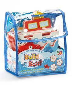 Love this Boat Bath Toy Set by Meadow Kids on #zulily! #zulilyfinds