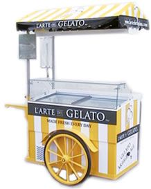 or Gelato Cart! Vendor Cart, Ice Cream Cart, Scenery Paintings, E Craft, Coffee Shop Design, Joy To The World, Kiosk, Gelato, Food Truck
