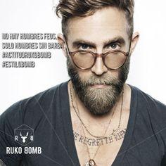 No hay #hombres feos solo hombres sin #barba #ActitudRukoBomb #Estilo #Fashion…