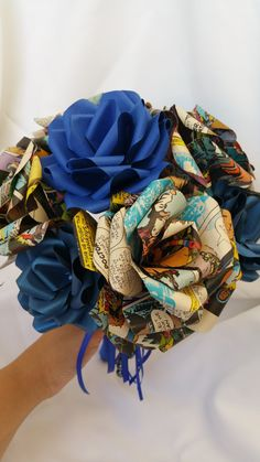Doctor Who Comic Book Bouquet by FanCraftedDesigns on Etsy