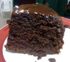 torta de cacao con banano