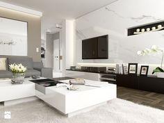 JASNE MIESZKANIE - Średni salon, styl nowoczesny - zdjęcie od PEKA STUDIO