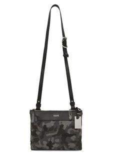 F.CLIO milano 1983/ SULLA VALIGIA CAMOUFLAGE/ camouflage x black/ men/ Made in Italy # bag #fclio