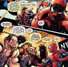 Spider-Man/Deadpool (2016-) #9 Deadpool 2016, Spideypool, Rabbit Hole, Spiderman, Comic Books, Comics, Spider Man, Cartoons, Cartoons