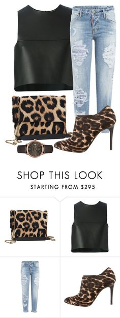 """Untitled #2080"" by ayannap ❤ liked on Polyvore featuring Lanvin, Fendi, Dsquared2 and Burberry"