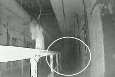 Shadow spotted at Eastern State Penitentiary in Philadelphia, PA, one of the most haunted places in the world. Creepy History, Haunted History, Most Haunted Places, Scary Places, Paranormal Pictures, Ghost Caught On Camera, Real Haunted Houses, Haunted Dolls, Ghost Sightings
