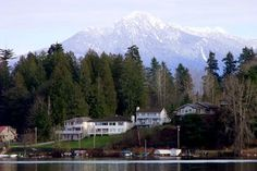 """Lake Stevens, WA. """"One community around the lake."""" 1,000 acre lake with a population about 26,000. Just East of Everett."""