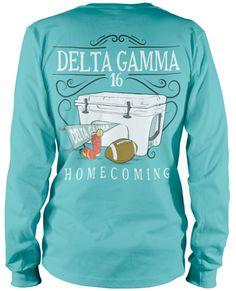 Delta Gamma Homecoming T-shirt.
