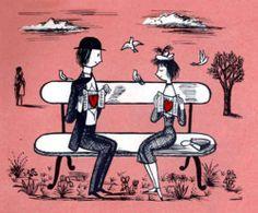 Les Amoureux de Peynet Les Amoureux de Peynet #StValentin #Peynet…