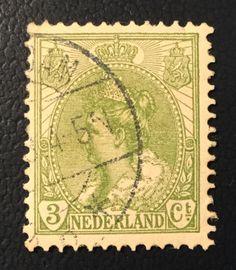 1899-1921 Koningin Wilhelmina 57 gestempeld