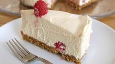 - Today is National White Chocolate Cheesecake Day! A Greek writer named Athenaeus recorded the oldest surviving cheesecake recipe. Best Ever Cheesecake Recipe, Cheesecake Day, Chocolate Cheesecake Recipes, Simple Cheesecake, Raspberry Cheesecake, Yummy Treats, Sweet Treats, Yummy Food, Fitness Cake