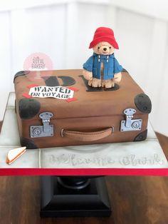 Suitcase Cake, Paddington Bear, Custom Cakes, Toy Chest, Bakery, Birthday Cake, Personalized Cakes, Personalised Cake Toppers, Birthday Cakes
