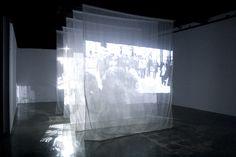 Sang Eun Lee, Passing By Installation vidéo, Projection Installation, Video Installation, New Media Art, Interactive Art, Design Research, Collaborative Art, Stage Design, Light Art, Medium Art