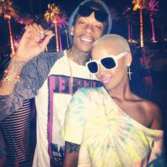 I love them... Wiz & Amber Rose <3 I want this type of love.