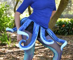 This is an easy costume that a group of friends and I made for a costume race in San Francisco. It can be accessorized in any number of ways - some of us wore...