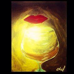 """A glass of Remy"" by: Ethel Lynn Ivory"