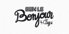 Bien le Bonjour ! by sebastien CUYPERS  http://www.behance.net/gallery/Bien-le-Bonjour-/3343779