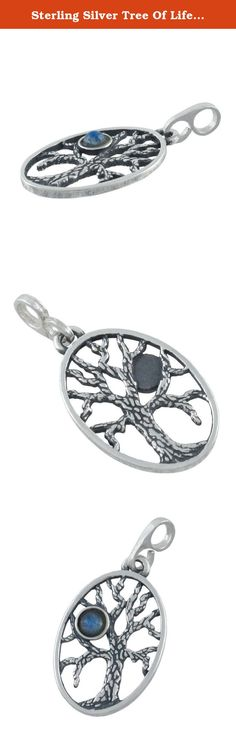 Sterling Silver Tree Of Life Pendant W/ Moonstone. This solid sterling silver Tree Of Life pendant features a small round moonstone in its branches. The Celtic Tree of Life is a fundamental element of Celtic spirituality. The Irish Druids believed the Sacred Tree had the power to reveal messages from the gods, and the ancient Celts believed all living things were spiritual, mystical beings, not just inanimate objects to be exploited. They believed trees in particular were a source of…