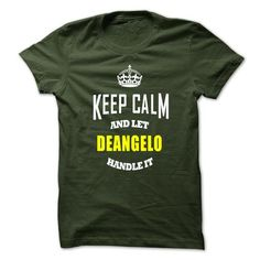Keep Caml And Let DEANGELO Handle It - #trendy tee #long sweatshirt. BUY-TODAY => https://www.sunfrog.com/No-Category/Keep-Caml-And-Let-DEANGELO-Handle-It.html?68278