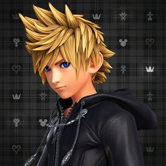 Roxas HQ Wallpaper Roxas in HQ . { Kingdom H roxas why can't we be best friends yours torches or for some reason earts } Kingdom Hearts 3, Kingdom Hearts Wallpaper, Kingdom Hearts Characters, Monster High Boys, Kh 3, Face Study, We Are Best Friends, Disney And Dreamworks, Final Fantasy