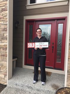 Happy homeowner of a BEAUTIFUL home in Snohomish, WA!