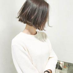 Pin on bob Kawaii Hairstyles, Hairstyles Haircuts, Summer Hairstyles, Pretty Hairstyles, Girl Short Hair, Short Hair Cuts, Short Hair Styles, Hair Arrange, Hair Affair