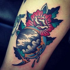Old school moon tattoo (Google search)