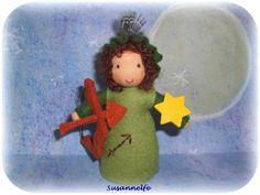 Sternzeichen Schütze  Jahreszeitentisch von Susannelfes Blumenkinder  auf DaWanda.com