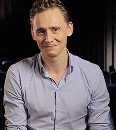 Tom Hiddleston. Just because.
