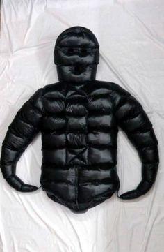 Nylon jacket fetish Glossy