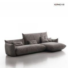 卡默現代簡約創意多人沙發客廳布藝個性會所高檔轉角沙發組合派對-淘寶網
