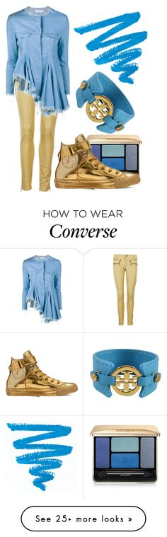 """Untitled #1510"" by johalz on Polyvore featuring MICHAEL Michael Kors, Marques'Almeida, Tory Burch, Guerlain, Converse, women's clothing, women's fashion, women, female and woman"