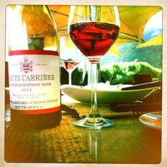 One of South Africa's best wines Haute Cabriere unwooded Pinot Noir also try chardonnay/Pinot Noir blend !
