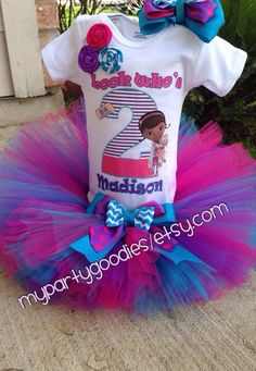 Doc Mcstuffins tutu Doc Mucstuffins outfit by Mypartygoodies