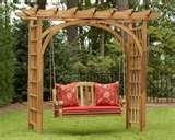 Trellis with swing! could work??