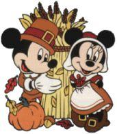mickey happy thanksgiving