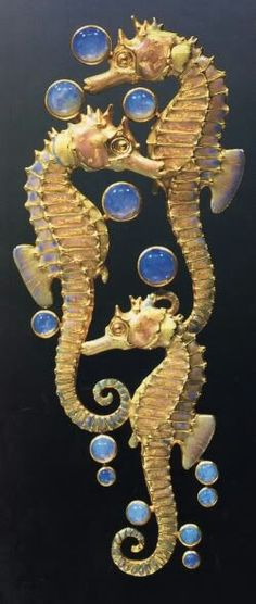 Lalique seahorses