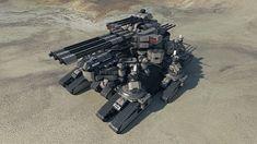 Taranchula Tank #1 by Avitus12.deviantart.com on @deviantART