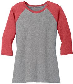 8321d87427b3 Joe s USA(tm) Ladies Raglan Baseball T-Shirt-Purple Grey-XL  Joe s USA(tm)  Ladies Raglan Baseball T-Shirt Printed with Joe s USA(tm) Logo Inside.