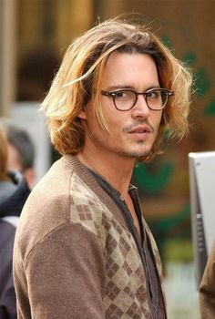 Johnny Depp in character for one of my favorite JD movies--secret window