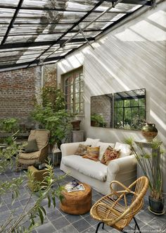 9 beautiful winter garden house extension you dream of - Garden Room Patio Design, Exterior Design, House Design, Garden Design, Terrace Design, Exterior Siding, Outdoor Rooms, Outdoor Living, Outdoor Decor