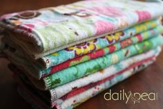 Why Use Cloth Baby Wipes?