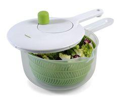 Amazon.com: Progressive International SALL-6 Salad Spinner with Handle, 2.5 Quart: Kitchen & Dining