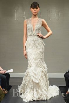 Brides: Lazaro Wedding Dresses   Fall 2014   Bridal Runway Shows   Brides.com | Wedding Dresses Style