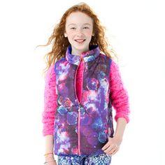 Galaxy Rose Reversible Vest