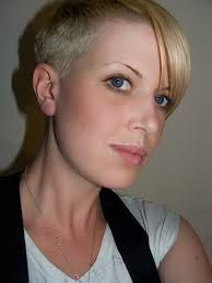 shaved heads women - Google Search