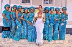 Your new outfit for make your wedding special day and memorable ? Your new outfit for m Traditional Wedding Attire, African Traditional Wedding, Traditional Dresses, Nigerian Bride, Nigerian Weddings, African Bridesmaid Dresses, Bridesmaid Ideas, Igbo Wedding, African Traditions