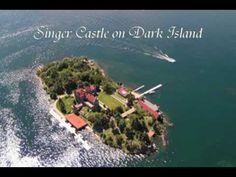 NEW YORK, CHIPPEWA BAY - Singer Castle on Dark Island, USA | 1000 Islands, St. Lawrence River