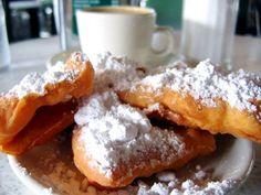 French Quarter Beignets  - Cafe du Monde,  New Orleans  Making these next Mardi Gras!